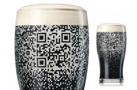 Guiness QR code